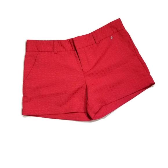 Calvin Klein red pink shorts